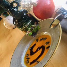 cream soup Hokaido pumpkin -yummy