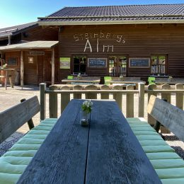At the weekend our Steinbergs to go snack bar opens agai