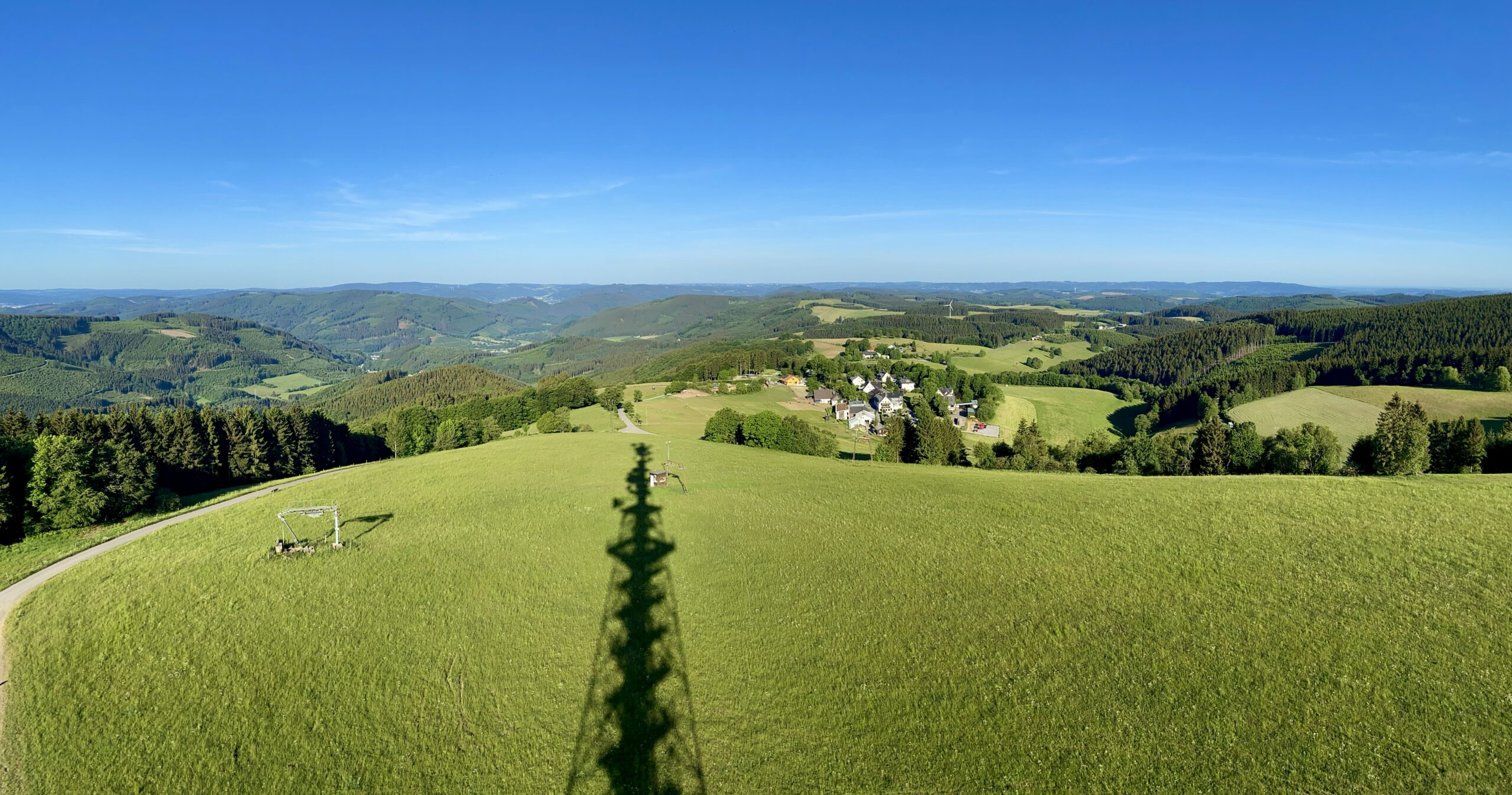 view from the Schomberg tower